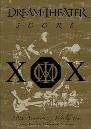 """""""Score: 20th Anniversary World Tour Live with the Octavarium Orchestra"""" (DVD) by Dream Theater"""