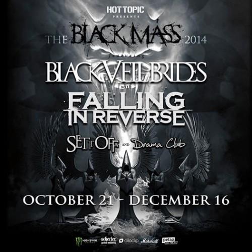 Tour - Black Veil Brides - 2014