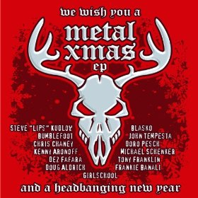 """""""We Wish You A Metal Xmas and a Headbanging New Year"""" (EP) by Various Artists"""