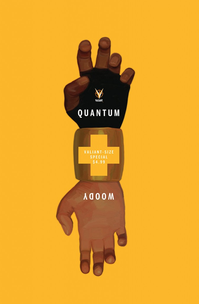 Comic - Valiant Sized Quantum and Woody 1 - 2014
