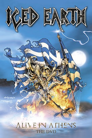 """""""Alive In Athens – The DVD"""" by Iced Earth"""