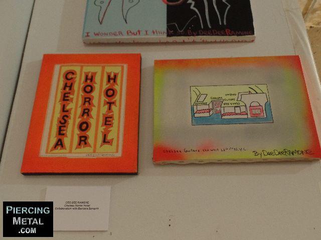 dee dee ramone, dee dee ramone the exhibition, hotel chelsea storefront gallery
