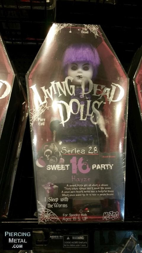 living dead dolls, mezco toyz, mezco