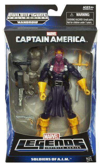 hasbro, action figures, marvel legends series, captain america infinite legends