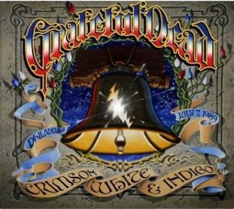 """Crimson, White & Indigo: Philadelphia, July 7, 1989"" by The Grateful Dead"