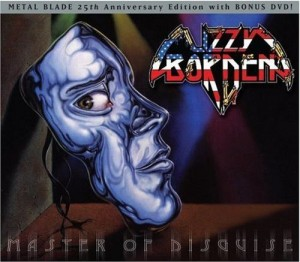"""""""Master Of Disguise"""" (Special Edition) by Lizzy Borden"""