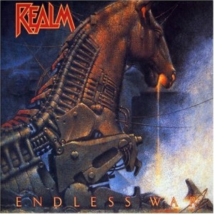 """""""Endless War"""" (re-issue) by Realm"""