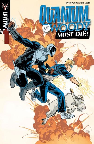 Comic - Quantum and Woody Must Die 1 - 2014