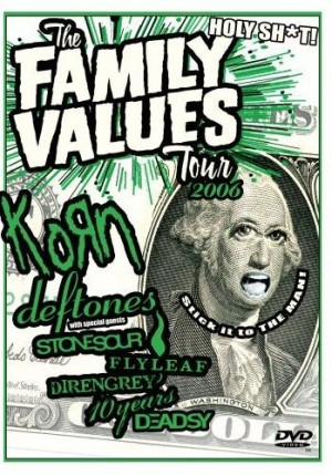 """Family Values Tour 2006"" (DVD) by Various Artists"