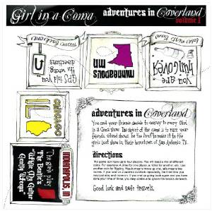 """""""Adventures In Coverland"""" Vol. 1 by Girl In A Coma"""