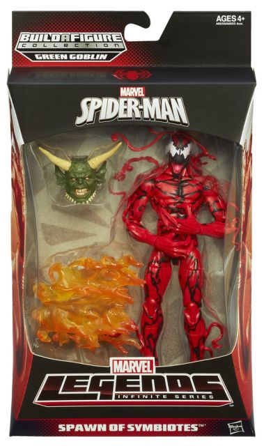 SPIDER-MAN INFINITE LEGENDS CARNAGE In Pack A6659
