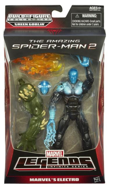 SPIDER-MAN INFINITE LEGENDS ELECTRO A6657 In Pack