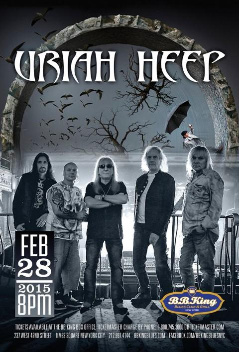Poster - Uriah Heep - 2015