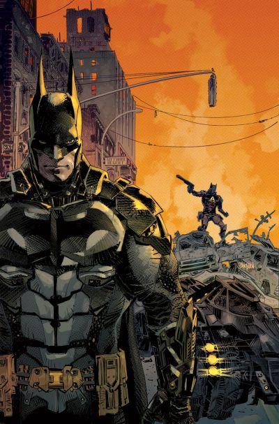 Comic - Batman Arkham Knight 1 - 2015