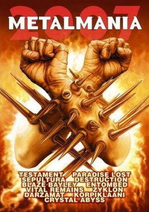 """""""Metal Mania 2007"""" by Various Artists"""
