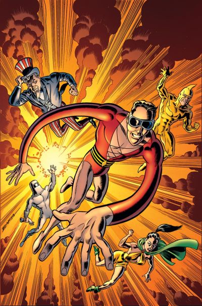 """Convergence: Plastic Man and The Freedom Fighters"" #1"