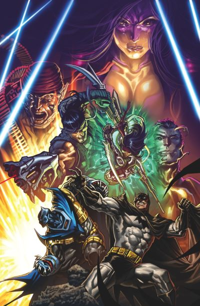"""Convergence: Batman - Shadow Of The Bat"" #2"