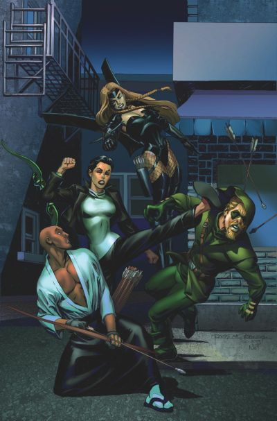 """Convergence: Green Arrow"" #2"