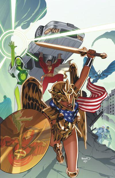 """Convergence: Justice League International"" #2"