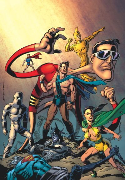 Comic - Convergence - Plastic Man and Freedom Fighters