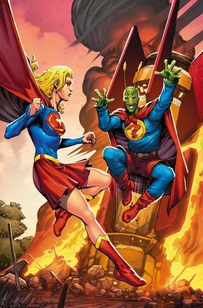 """Convergence: Supergirl/Matrix"" #2"
