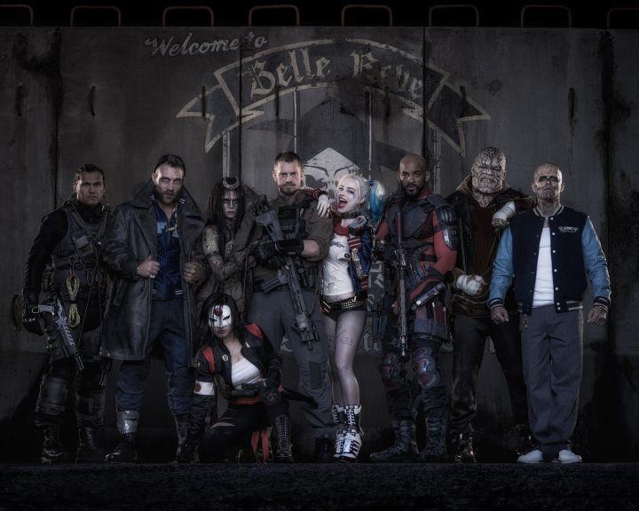 Photo - Suicide Squad Film Team - 2016