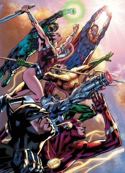 Comic - Justice League America 1 - 2015