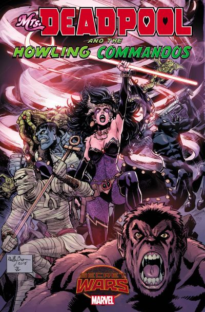 """Mrs. Deadpool and The Howling Commandos"" #1"