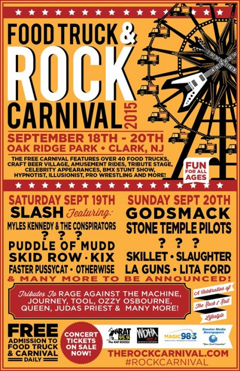 Poster - Food Truck and Concert 1 - 2015