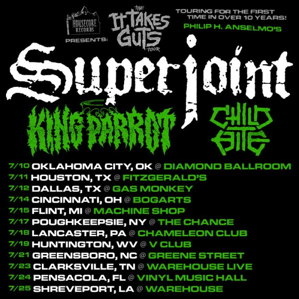 Tour - Superjoint - Summer 2015