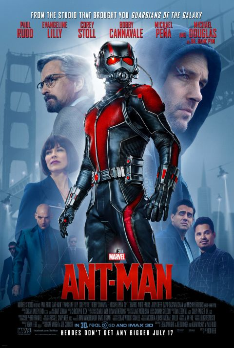 Poster - Ant-Man - 2015