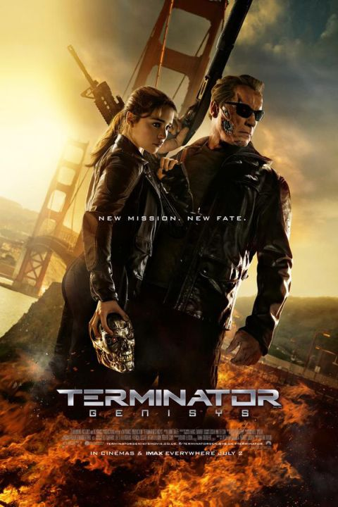 Poster - Terminator Genisys - 2015