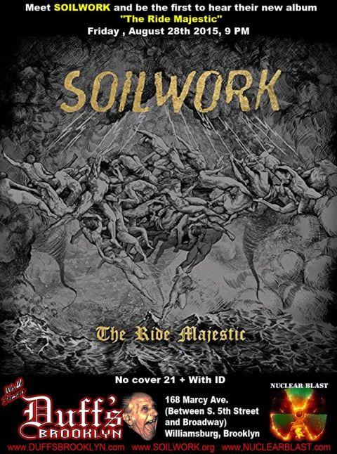 Poster - Soilwork Listening Event - 2015