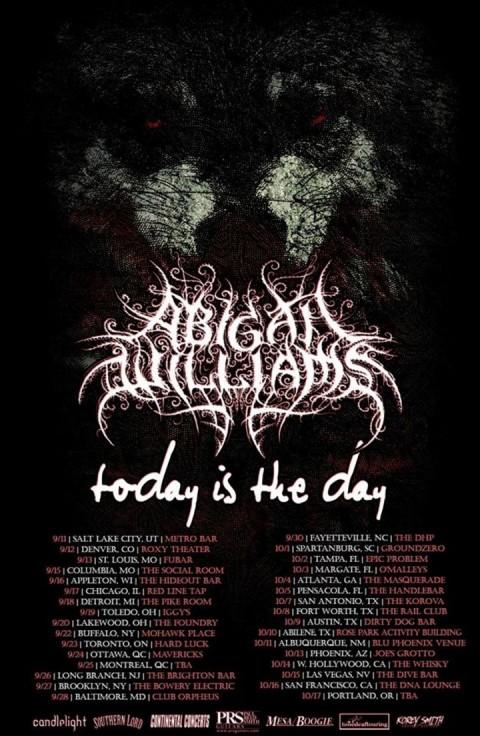 Tour - Abigail Williams - Summer 2015