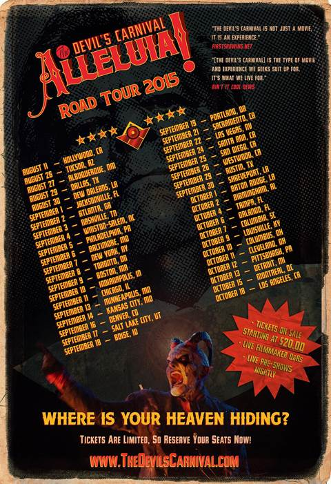 Tour - Devils Carnival - Allejulah 2015