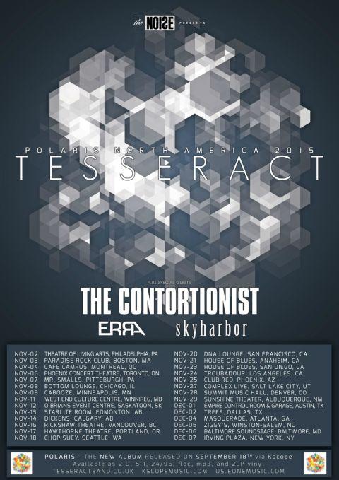 Tour - Tesseract - 2015