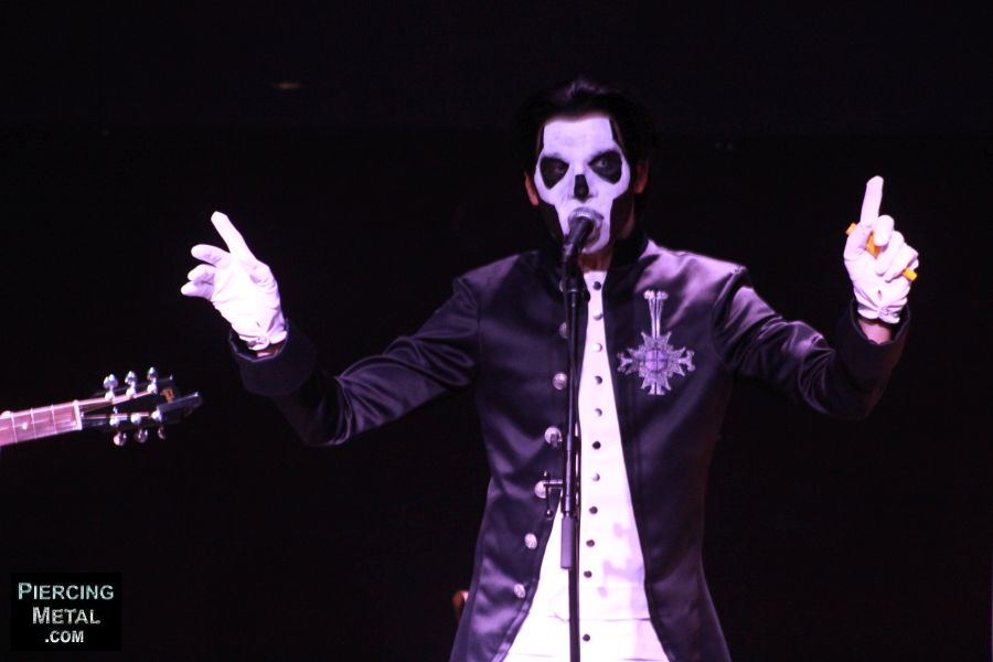 ghost, ghost album signing, nameless ghouls, papa emeritus iii
