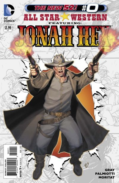 Comic - All Star Western 0 - 2012