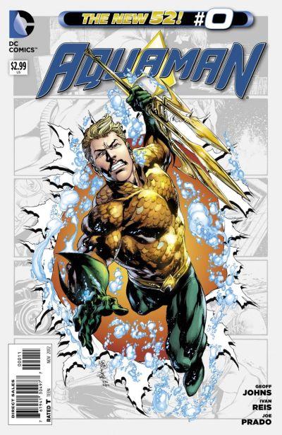 Comic - Aquaman 0 - 2012