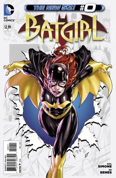 Comic - Batgirl 0 - 2012