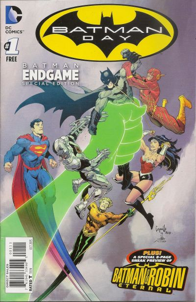 Comic - Batman Day 1 - 2015