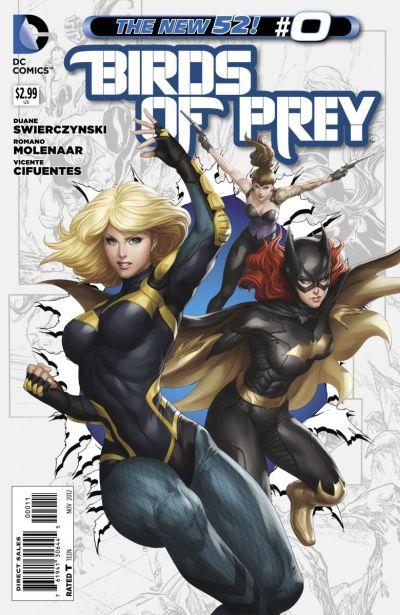 Comic - Birds Of Prey 0 - 2012