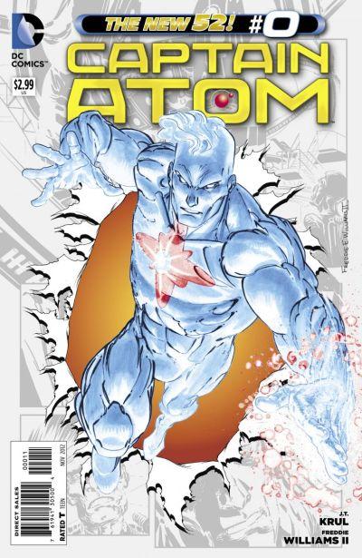 Comic - Captain Atom 0 - 2012