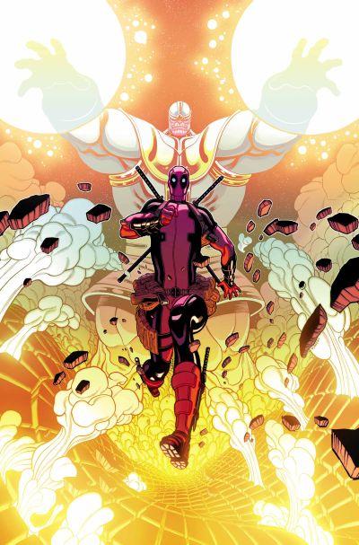 Comic - Deadpool vs Thanos 1 - 2015