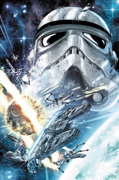 Comic - Journey To Star Wars The Force Awakens Shattered Empire 1- 2015