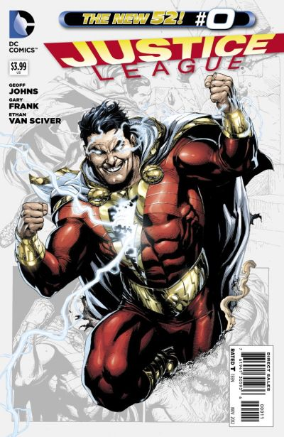 Comic - Justice League 0 - 2012