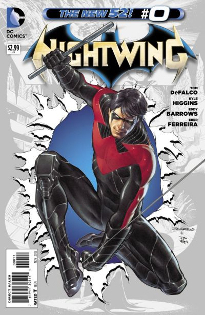 Comic - Nightwing 0 - 2012