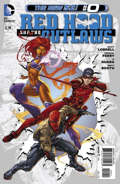 Comic - Red Hood and Outlaws 0 - 2012