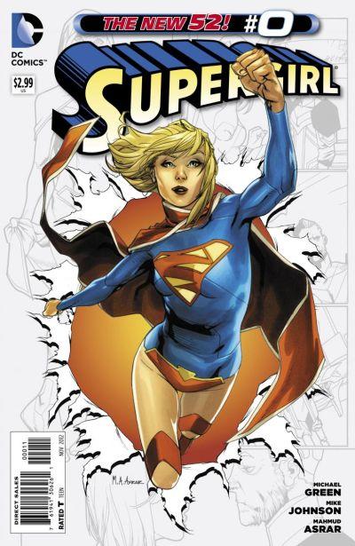 Comic - Supergirl 0 - 2012