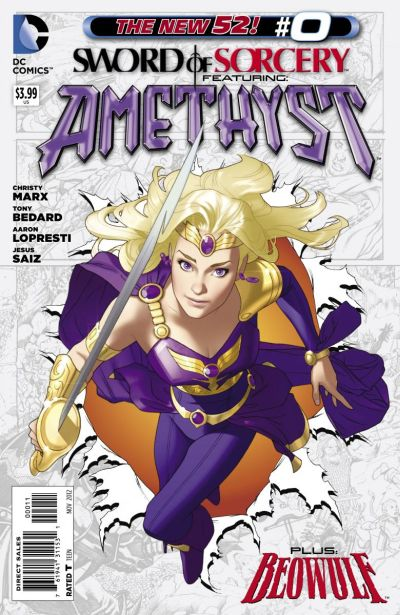 Comic - Sword Of Sorcery 0 - 2012